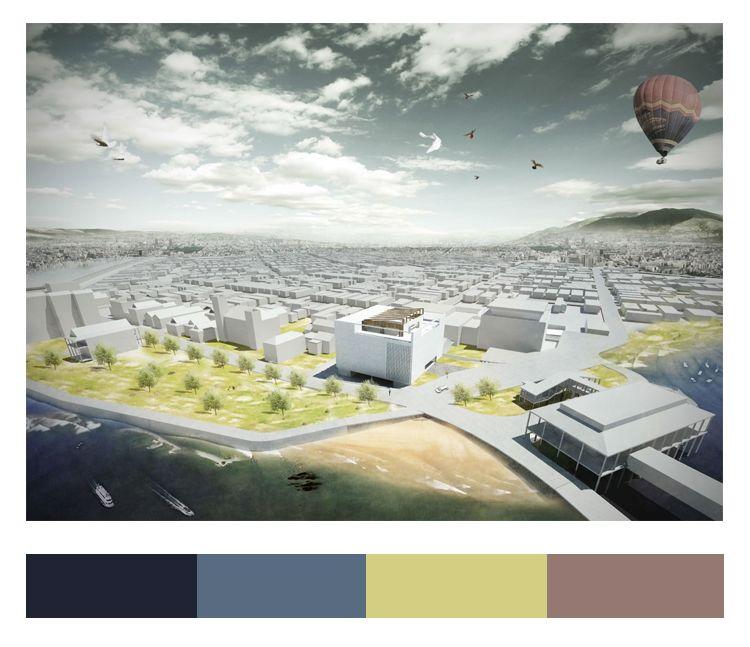 不会做小清新景观图纸,我敢肯定,99%就是配色的问题_30