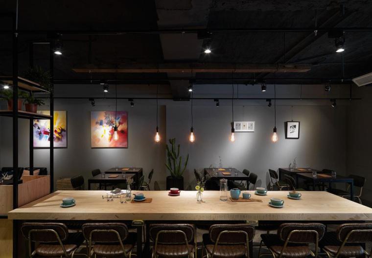台湾工业风格咖啡馆-3
