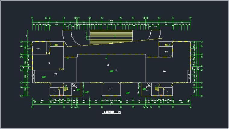 某现代综合办公楼方案(含效果图)