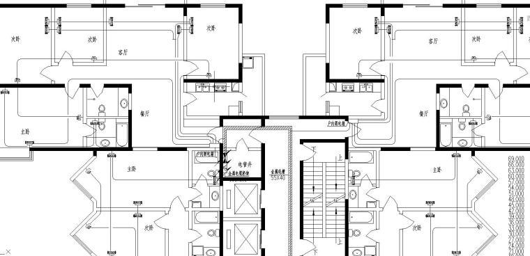 某高层住宅全套电气图纸