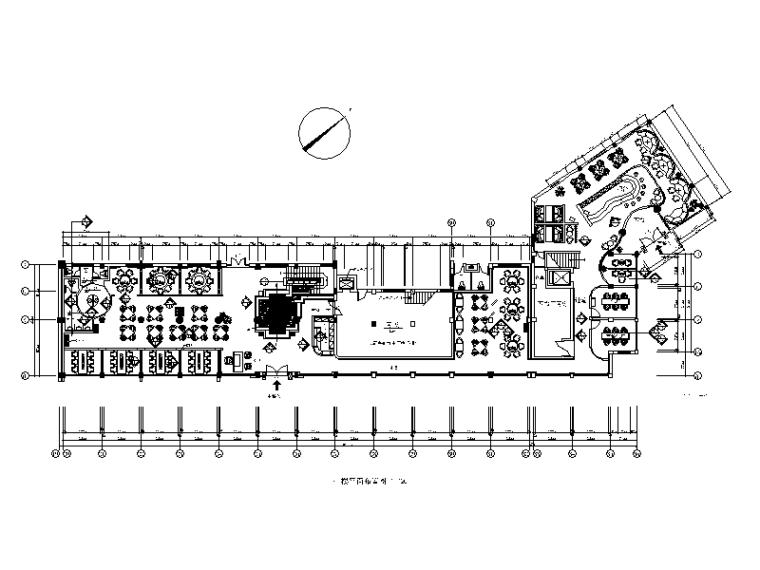 100套不同风格的餐饮空间餐厅设计CAD施工图