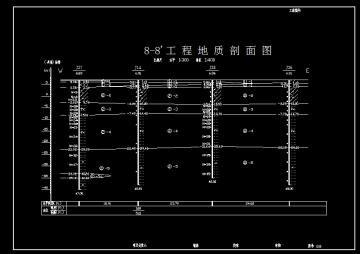 【江苏】中学建设详细勘察报告(含勘察大纲,图纸38张)