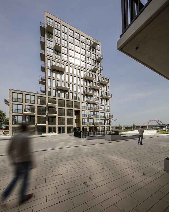 荷兰ZeeburgerIsland住宅综合体-7
