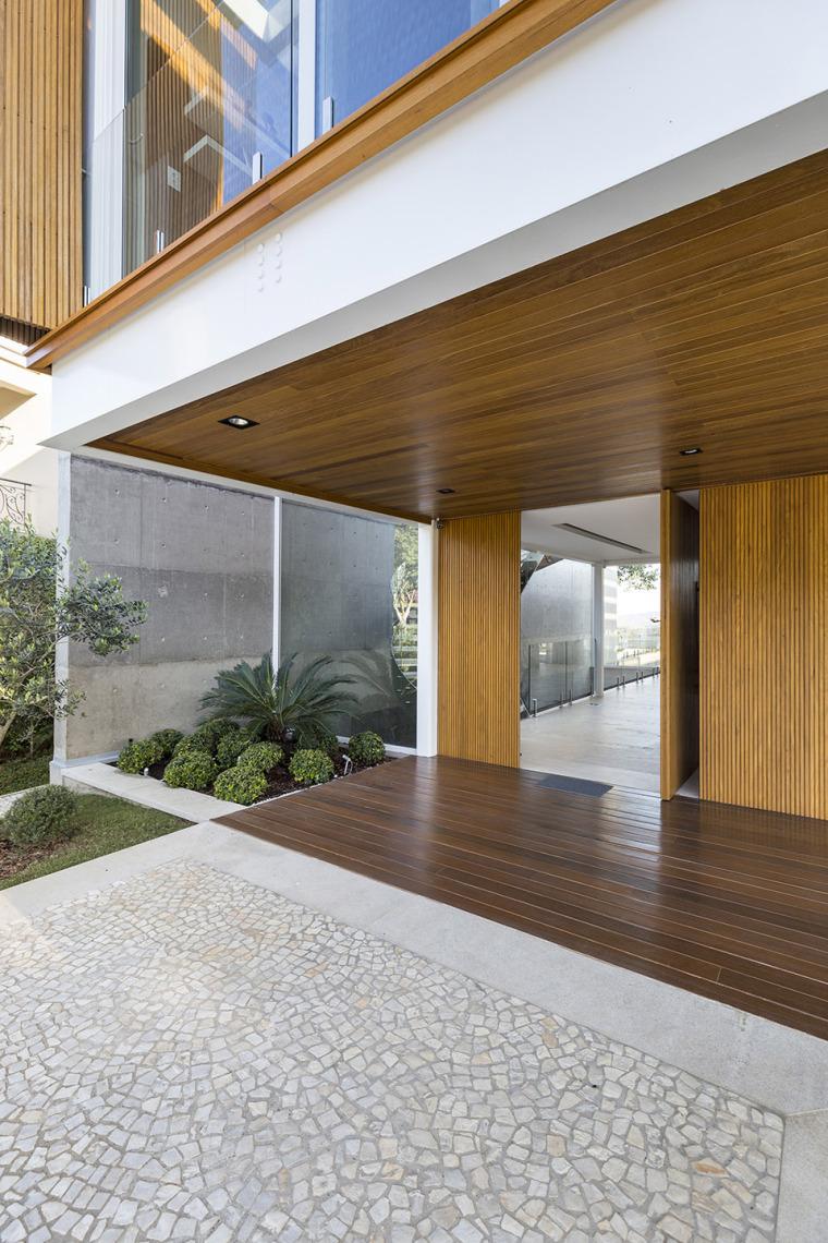 结构与空间融合的JardimdoSol住宅-7