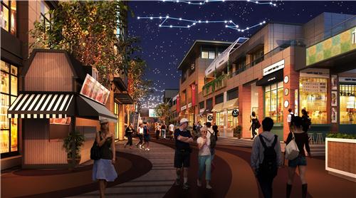 商业街氛围营造|打破空间,打造另类购物体验——梅澜坊商业街之-5