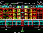五层联排式别墅建筑施工图