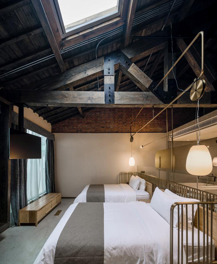 上海原招待所改造的新中式渝舍印象酒店内部实景图 (12)