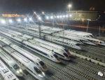 设计时速250公里的西成高铁昨日正式开通!