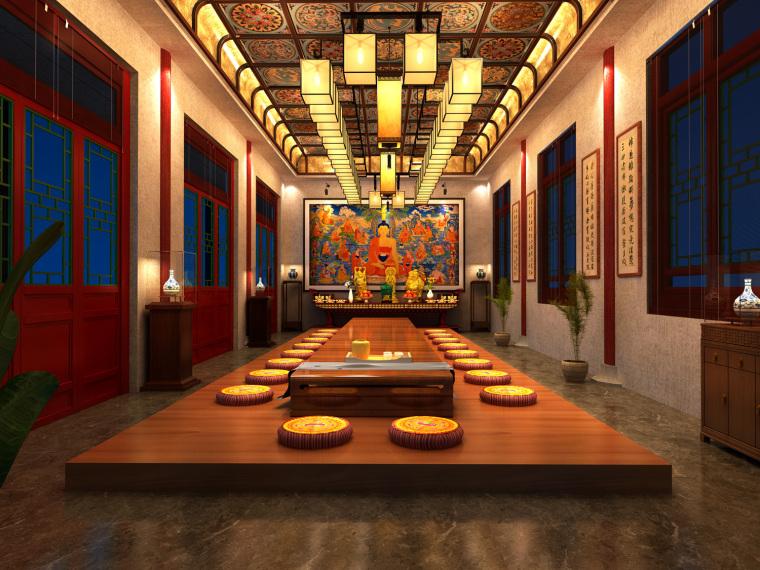 日式禅宗庭园结合禅宗美学设计案例——永福寺_11