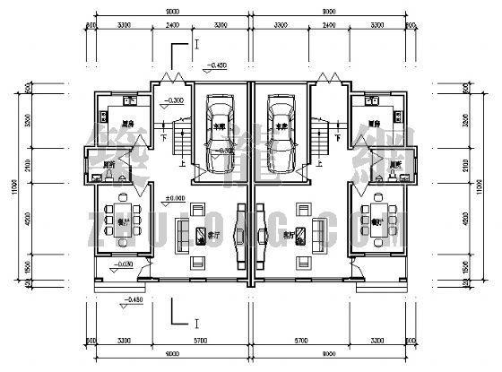 小康农居建筑设计方案3-3
