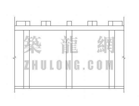 柱廊施工图