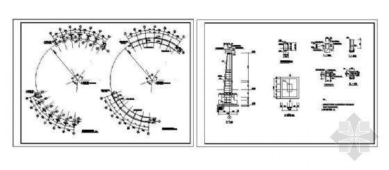 某花架结构配筋图-3