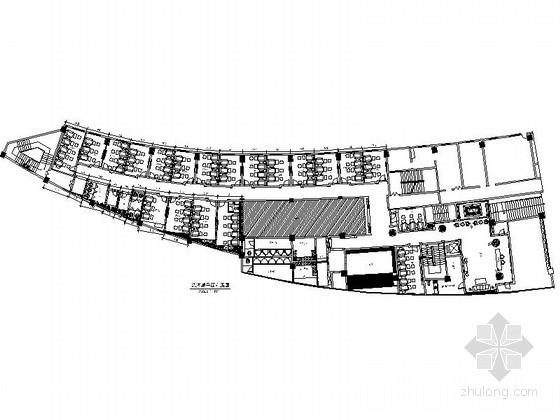 [原创]精品地级市体育馆高档休闲洗浴中心CAD装修施工图(含效果)