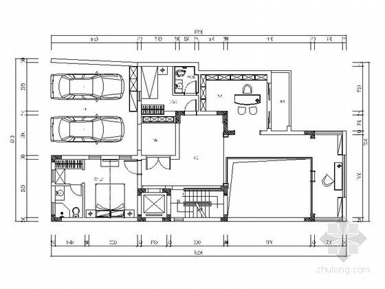[重庆]现代化新城区三层欧式设计别墅装修图(含效果)