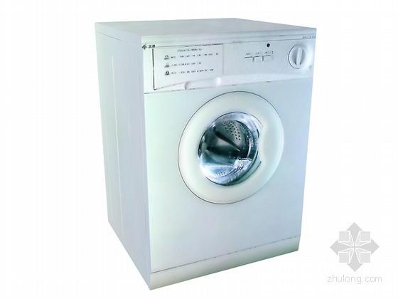 时尚滚筒洗衣机3D模型下载