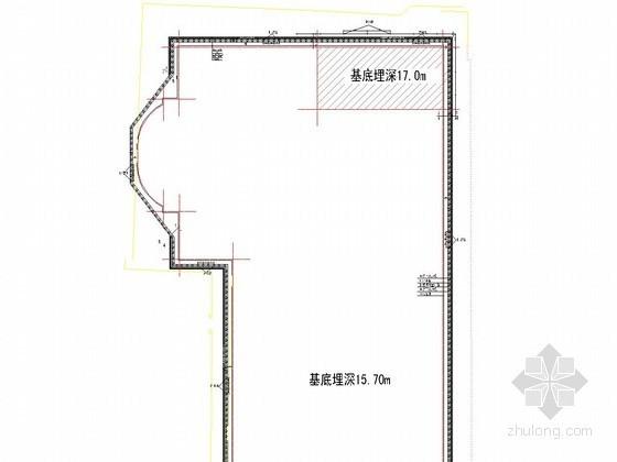 [北京]17米深基坑桩锚支护结合土钉墙支护设计方案(附图纸 计算书)