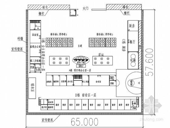 轨道交通工程土建施工大临施工方案23页(有施工附图)