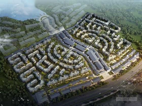 [四川]旅游新村川西民居特色住宅小区规划设计方案文本(知名建筑设计院)