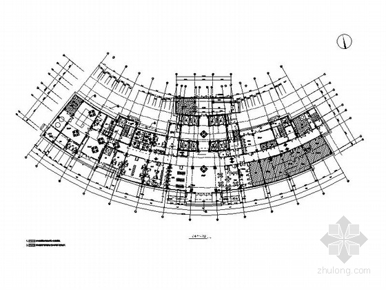 [江西]大型综合性现代化医院装修施工图