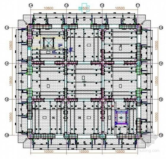[河南]框架核心筒结构超高层塔楼半逆作法施工方法总结