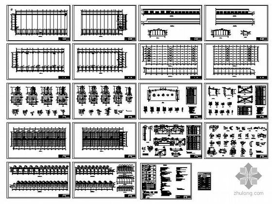 某发电公司露天煤矿外修队设备库结构图