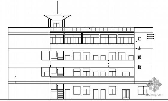 某四层卫生院行政楼建筑方案图