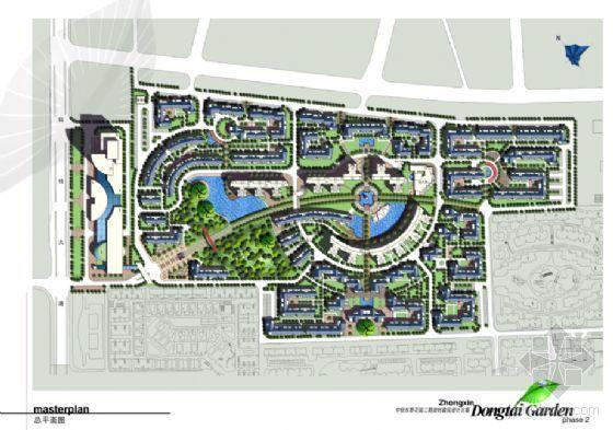 某小区建筑方案文本及单体平面图