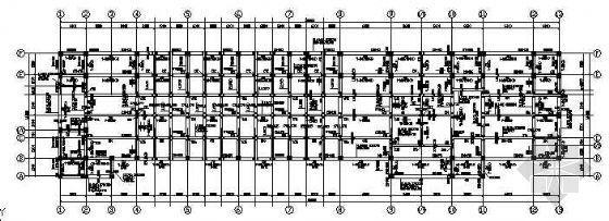 某3层教学楼结构图纸