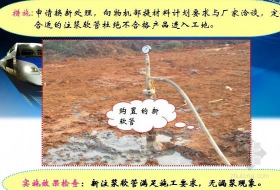 [QC]高速铁路路基地基岩溶注浆单位注浆量控制(中铁)