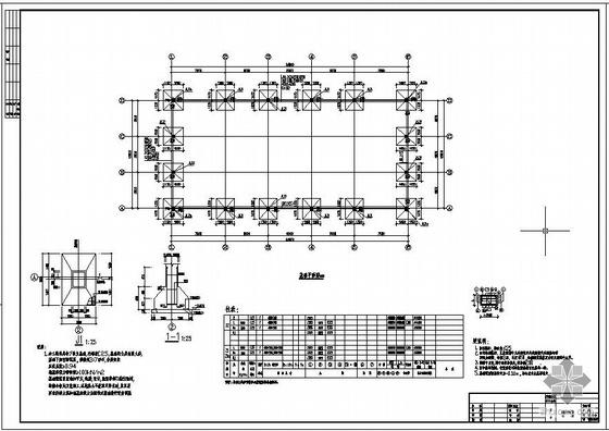 某15米跨钢结构厂房设计图