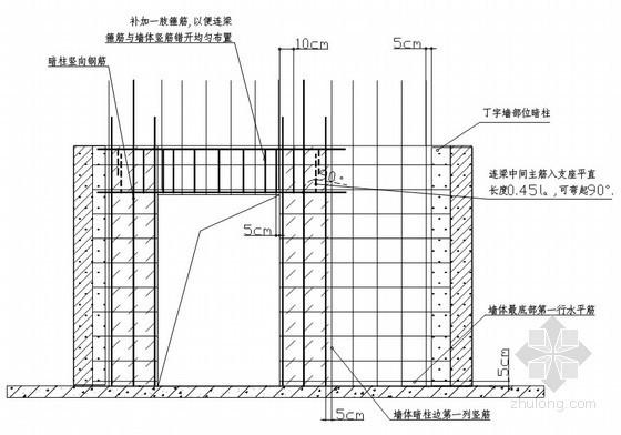 [天津]框剪结构住宅楼钢筋工程施工方案