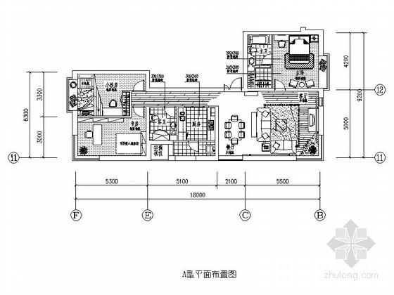 [沈阳]精品住宅公寓全套样板间室内装修图