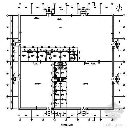 某单层汽车展厅建筑方案图-3
