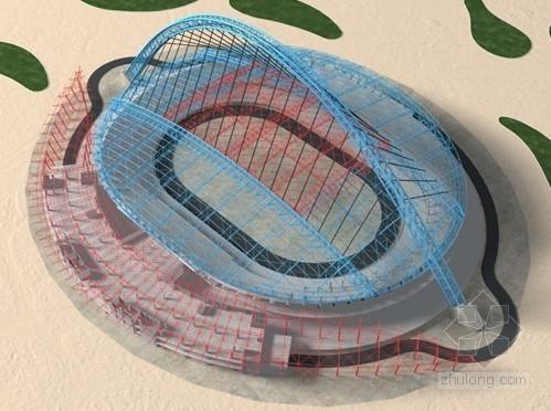 [内蒙古]体育场钢结构施工组织设计(开合屋面,管桁架结构)