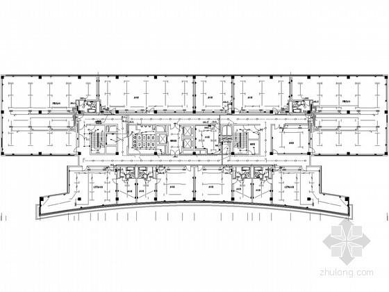 [山东]商务大厦电气设计施工图