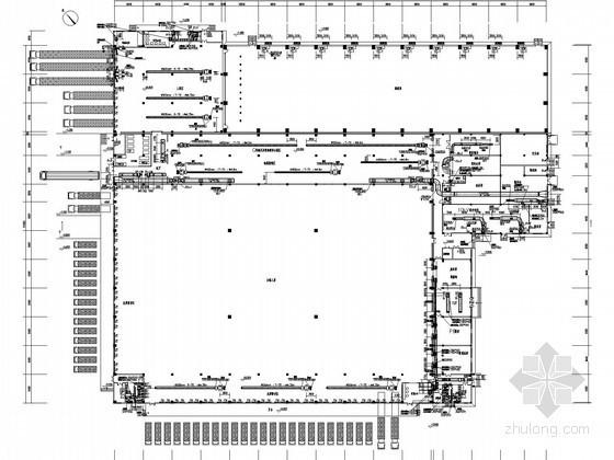 [浙江]多层物流厂房空调通风及防排烟系统设计施工图(大院出品)