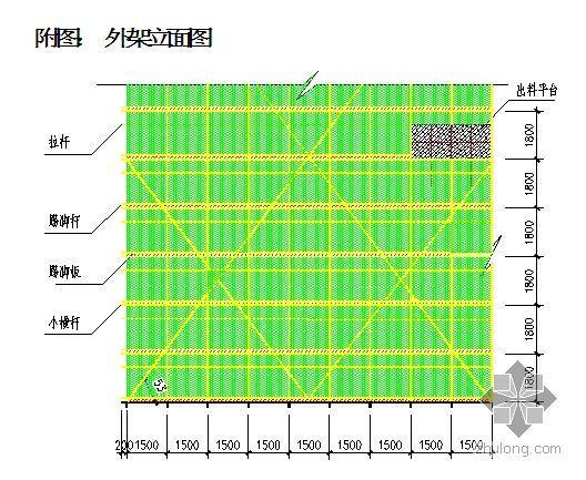 天桥排架方案资料下载-宁夏某火车站站房外脚手架施工方案(落地式)