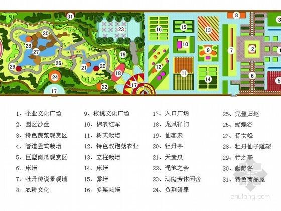 农业观光园温室园区景观设计方案