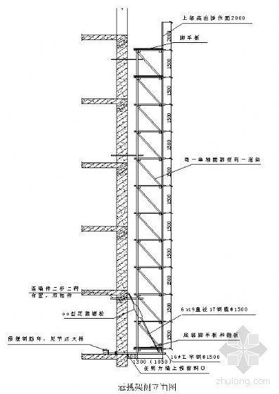 天津某高层住宅脚手架施工方案