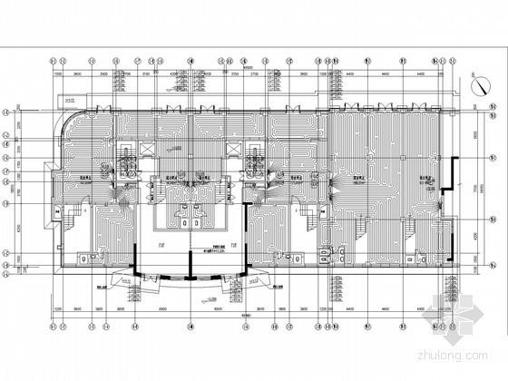 [辽宁]高层住宅小区采暖通风系统设计施工图(含地下设计)