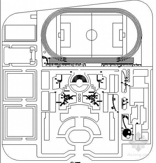校园园林景观工程施工图