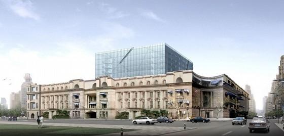 [上海]10层办公楼建筑设计方案文本(含CAD 知名大学设计)