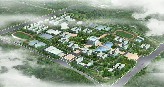 [安徽]现代风格高校校区规划及单体设计方案文本(含CAD 知名大学设计)