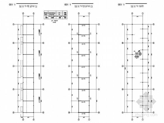 钢结构生产基地垃圾房结构施工图