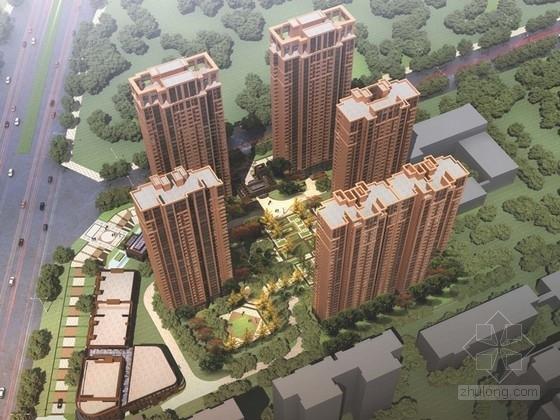 [安徽]简欧式风格住宅区规划及单体设计方案文本