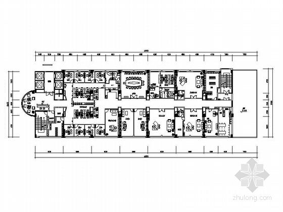 [武汉]现代矿业集团办公楼装修图(含效果)