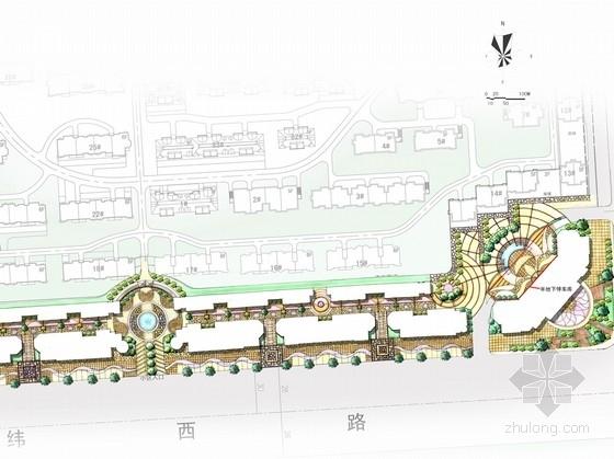 [江苏]滨海商业街景观设计规划