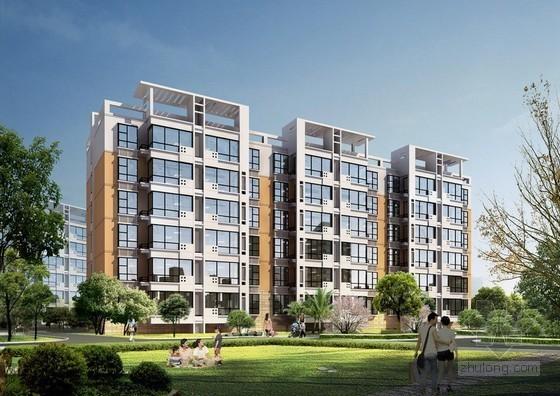[毕业设计]住宅楼建筑工程计量计价施工图预算(附图纸 工程量计算)44页