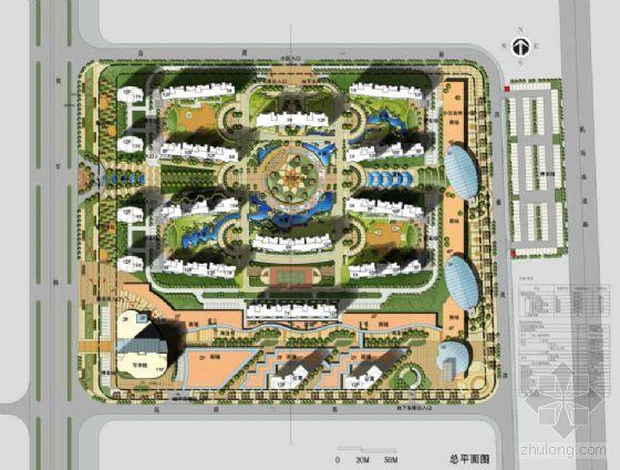 江苏南京某小区景观与建筑规划设计方案