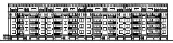 多层住宅楼平立剖面图